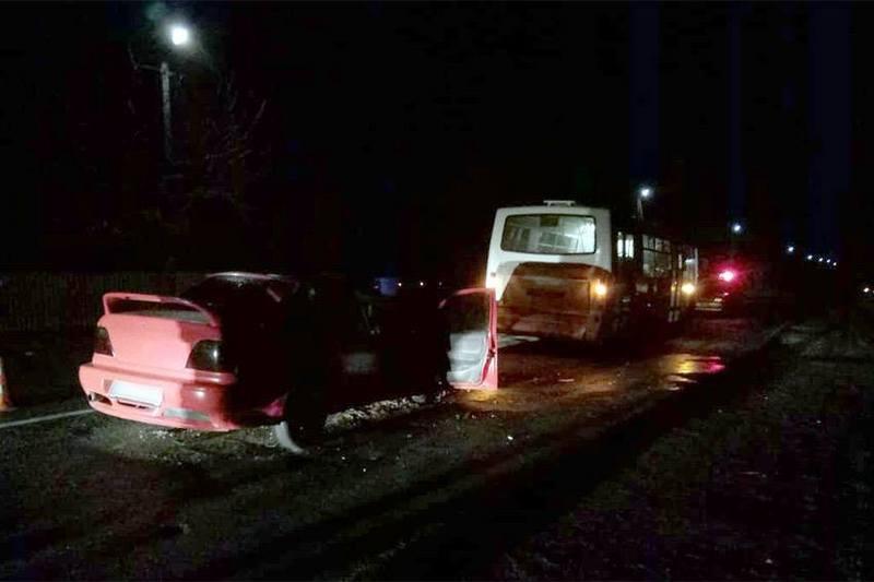 Аварія сталася в селі Старий Кривин Славутського району
