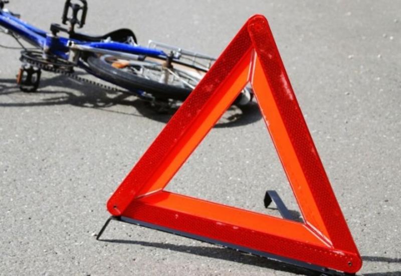 Велосипедистка потрапила до лікарні