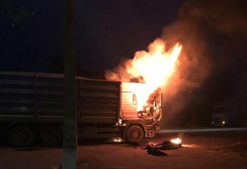 Збитки, яких зазнав власник вантажівки, склали, попередньо, 150 тисяч гривень