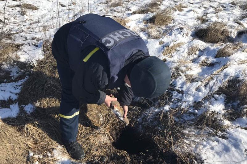Снаряд було виявлено у Старокостянтинові