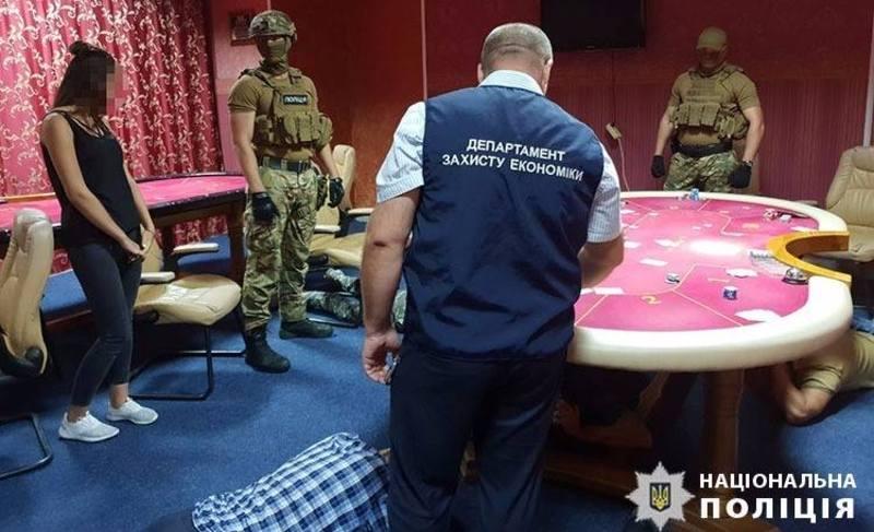 На Хмельниччині поліцейські викрили підпільне казино