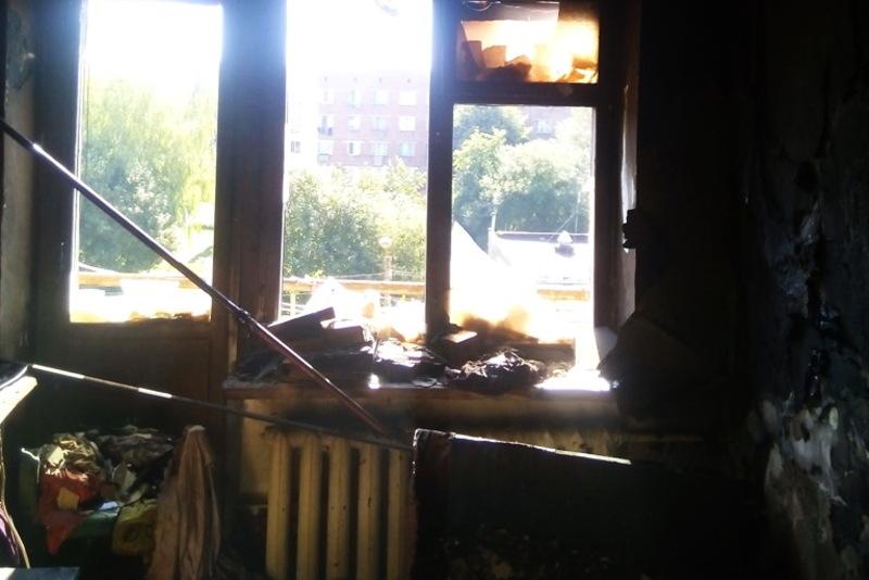 Внаслідок пожежі вогнем знищено телевізор, холодильник та речі домашнього вжитку