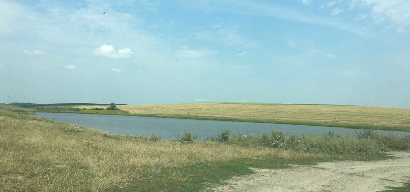На семлях сільськогосодарського призначення незаконно вирили ставок.