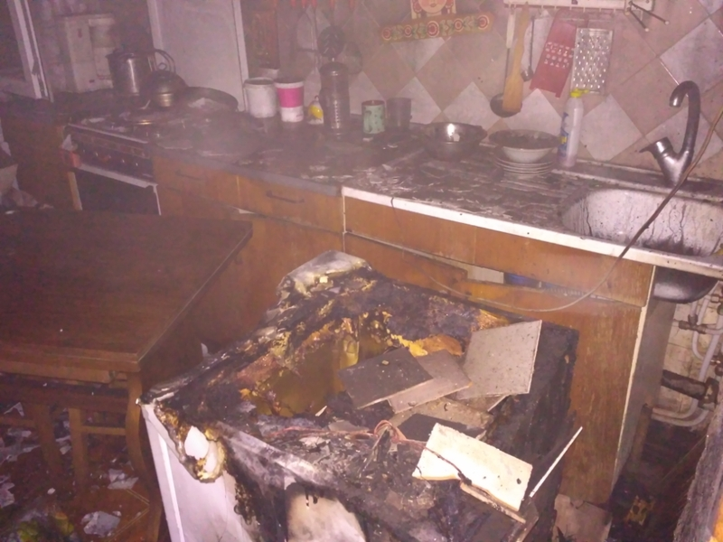 На пожежі ніхто не постраждав