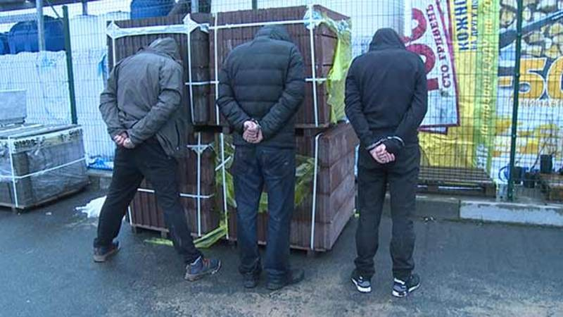 Зловмисників затримали у Вінниці