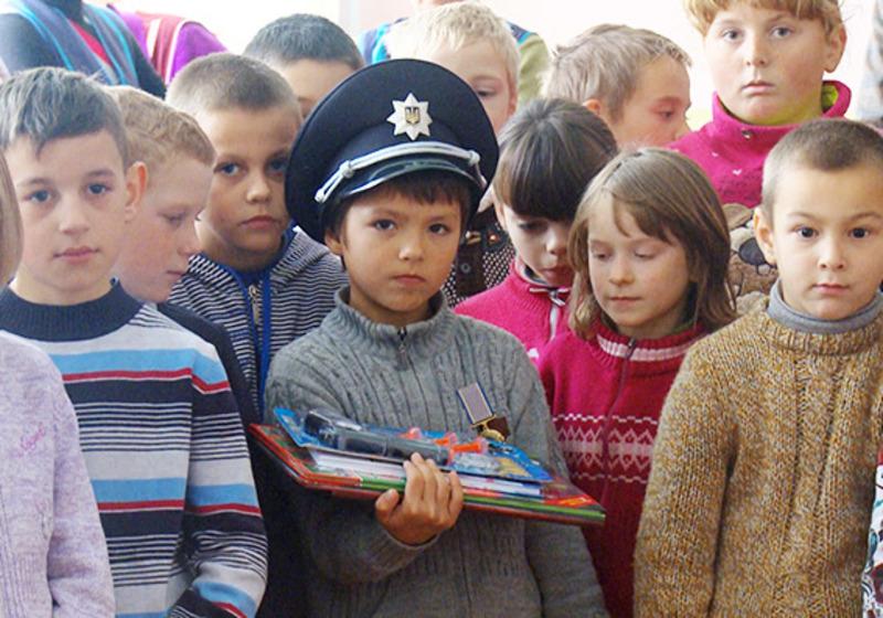 Тепер у Богдана є справжній поліцейський кашкет