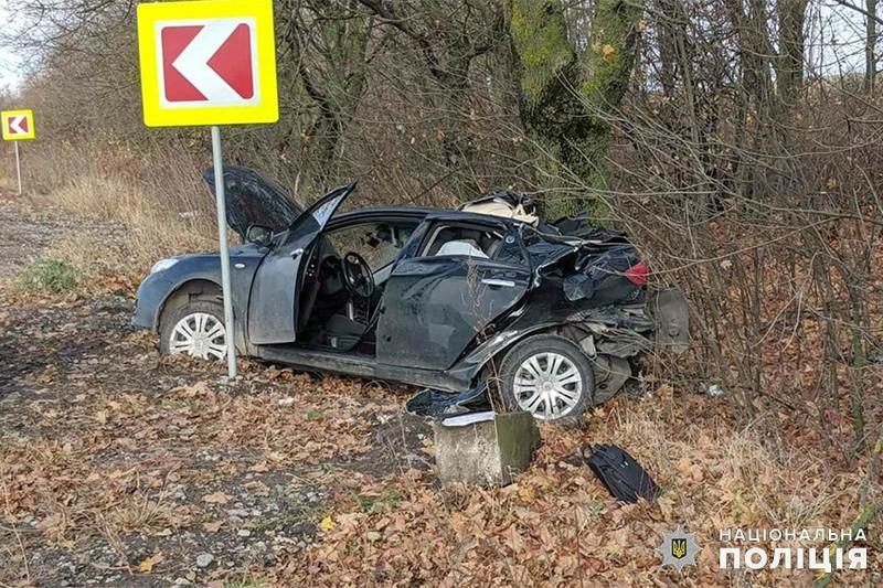 На Хмельниччині впродовж вихідних сталося дві ДТП з потерпілими