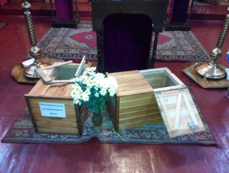 Невідомі викрали гроші з церкви, які пожертувували парафіяни