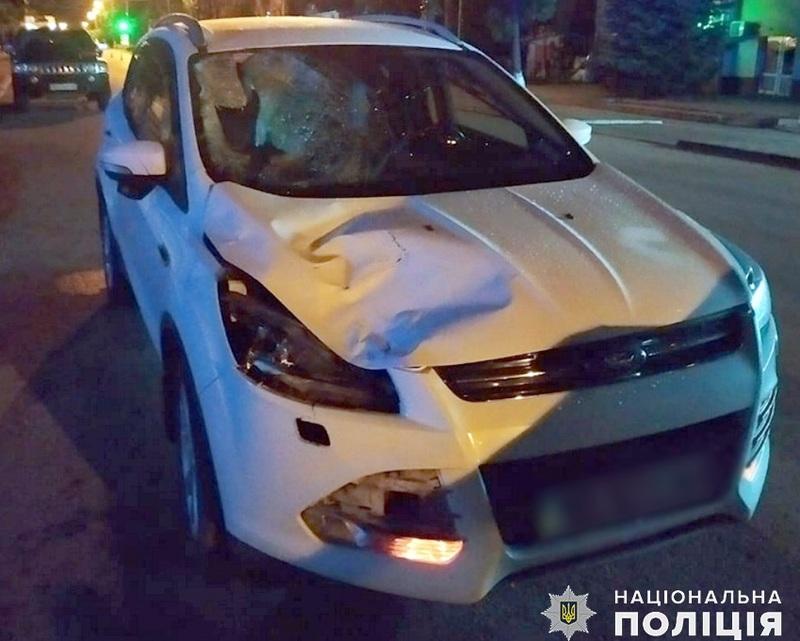 Аварія сталася на вулиці Незалежності у райцентрі Волочиськ