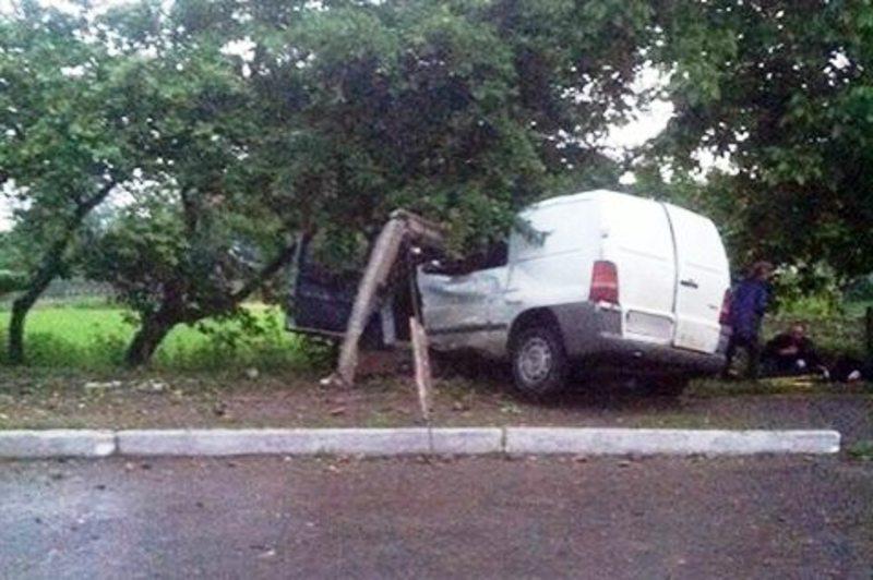 Водій помер на місці, пасажир – у кареті швидкої