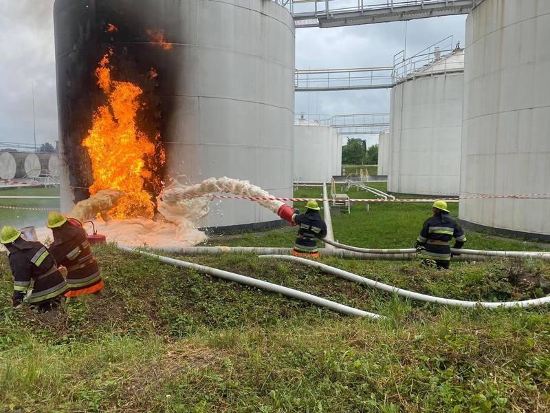 Пожежу загасили на початковій стадії