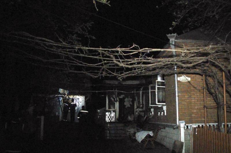 Чоловіки підпалили будинок щоб приховати сліди злочину