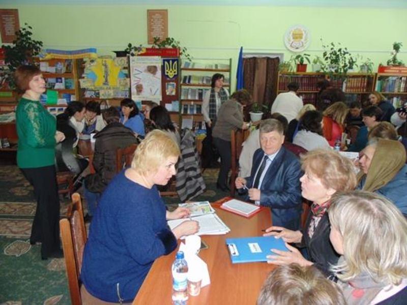 Присутні спілкувалися про децентралізацію та зміни в громадах