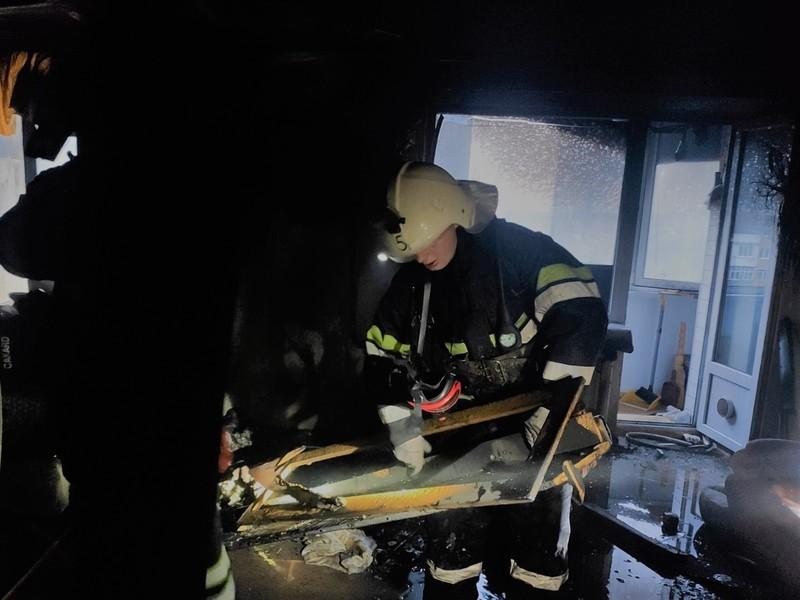 До ліквідації пожежі залучили сім рятувальників