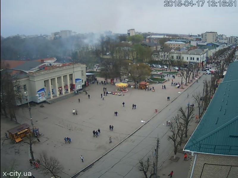 Галини Мельник та з веб-камери x-city.ua