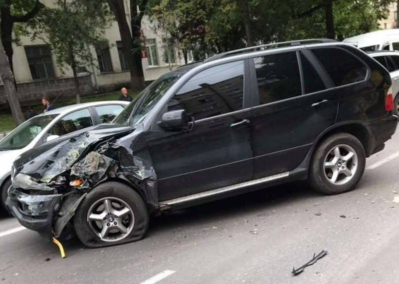 Аварія сталася на вулиці  Кам'янецькій