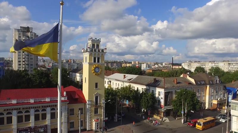 Велечезний стяг у Хмельницькому зник о 5-ій ранку