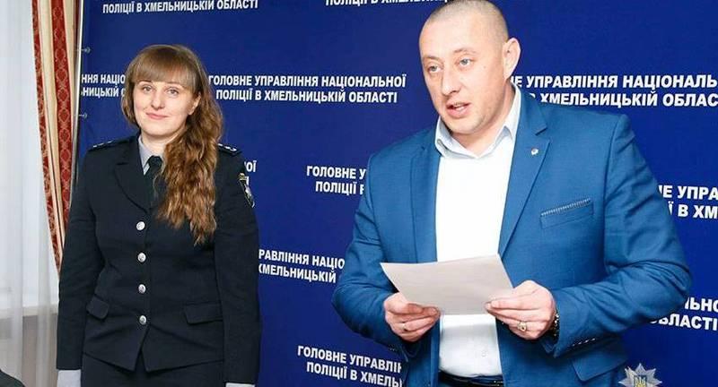 Головний поліцейський області Василь Віконський привітав колегу на новій посаді