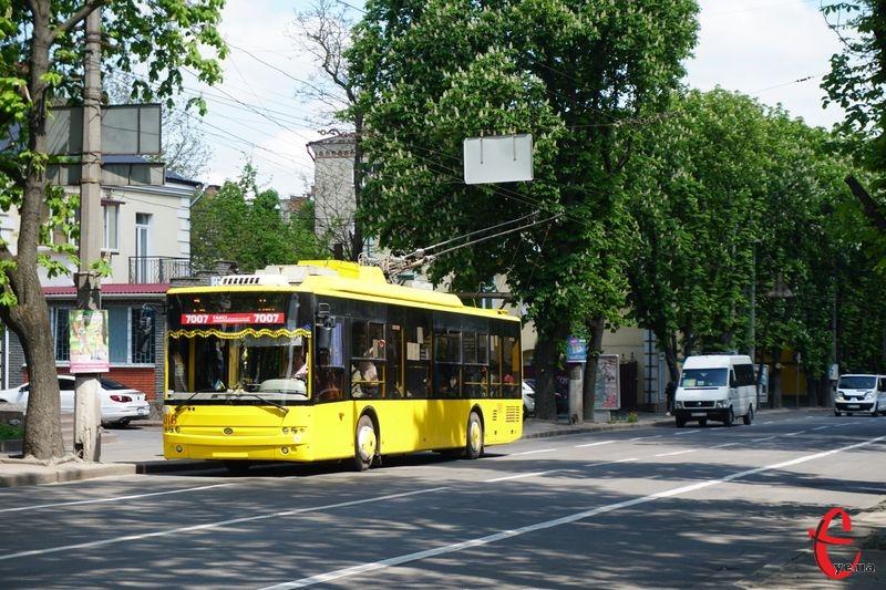 Наразі скасування готівкового розрахунку стосується виключно міських тролейбусів