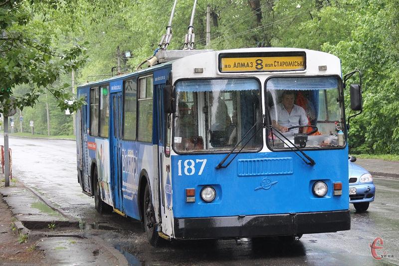 Скоріше за все валідатори в хмельнциьких тролейбусах запрацюють не раніше червня
