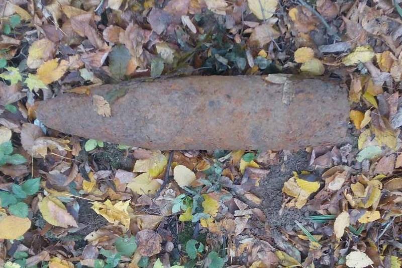 Піротехніки ГУ ДСНС знищили артилерійський снаряд часів Другої світової війни