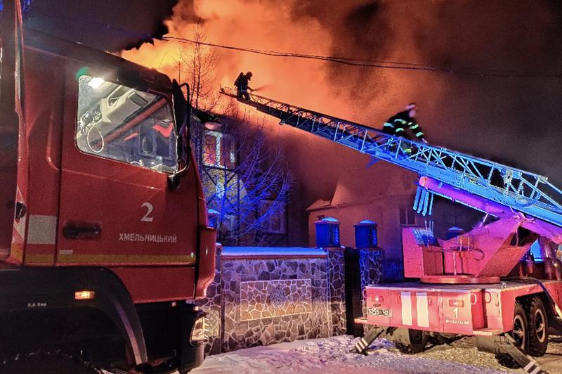 Пожежа сталася ввечері, 21 січня