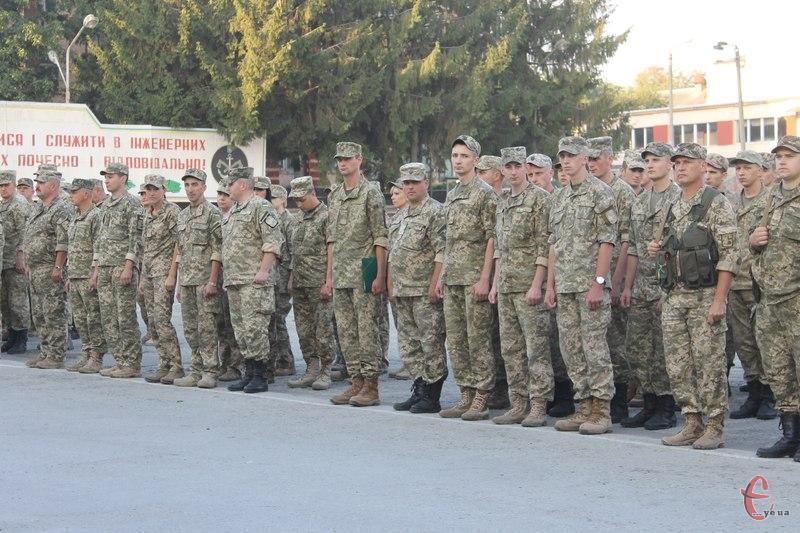 Зараз на цій території розміщується 48-ма інженерна бригада, кафедра підготовки офіцерів запасу та ліцей з посиленою військово-фізичною підготовкою