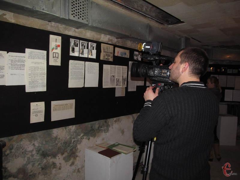 У фокусі камер опинилася історія музею