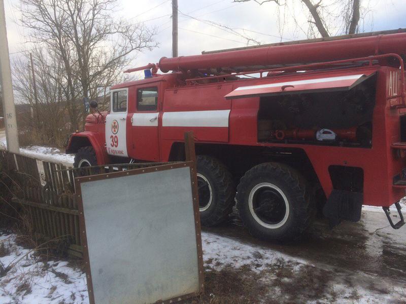 Рятувальники під час ліквідації пожежі будинку виявили тіло чоловіка