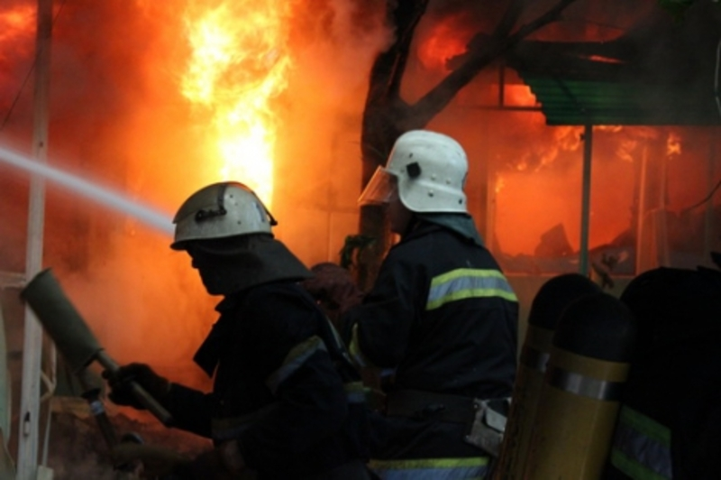 На місці пожежі в обласному центрі рятувальники знайшли тіло