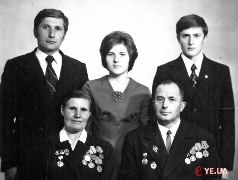 Фото з архіву родини МУХІНИХ.