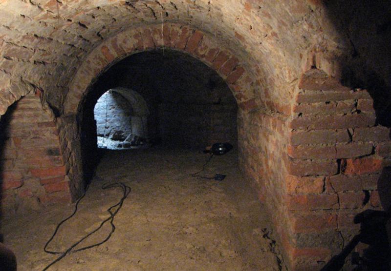 Частина підземель, які збереглися