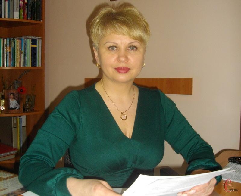 Головний лікар Хмельницького обласного центру здоров'я Людмила Небесна