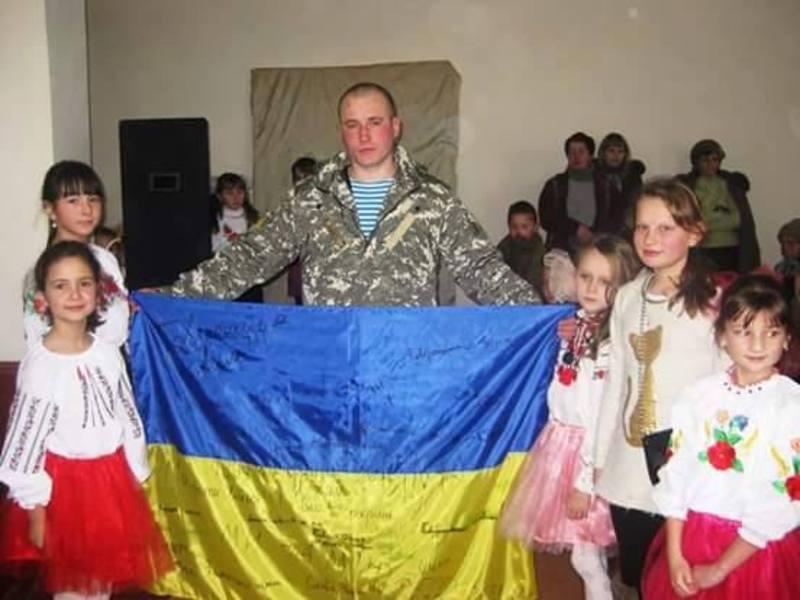 Дмитро Філімонов на зустрічі зі школярами