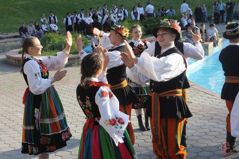 Запальний танок від польських друзів