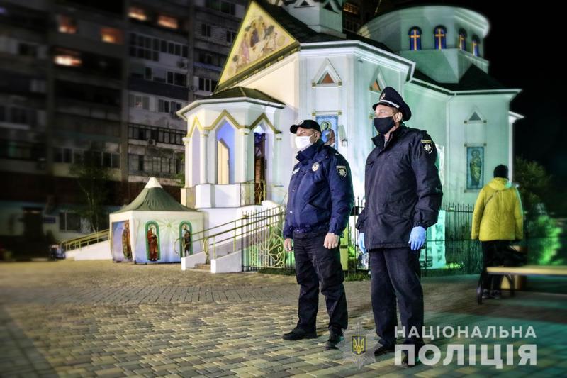 Публічну безпеку і порядок забезпечували 26 500 поліцейських та військовослужбовців Національної гвардії України