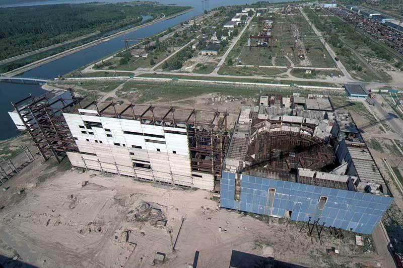 Будівельний майданчик 4-го енергоблоку Хмельницької АЕС