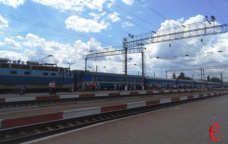 Новий потяг курсуватиме через Хмельниччину