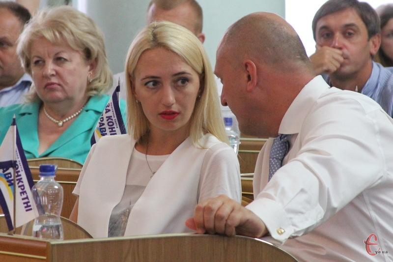Уляна Ткаченко більше не очолює фракцію