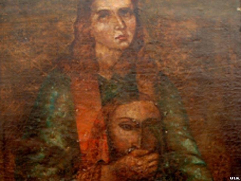 Перед очима реставратора постав дивний сюжет, в якому… святий Степан закриває вуста Ісусу Пантократору