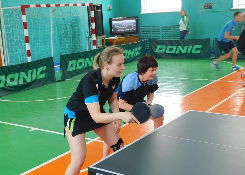Універсіада з настільного тенісу проходила в  Кам'янець-Подільському національному університету ім. І.Огієнка