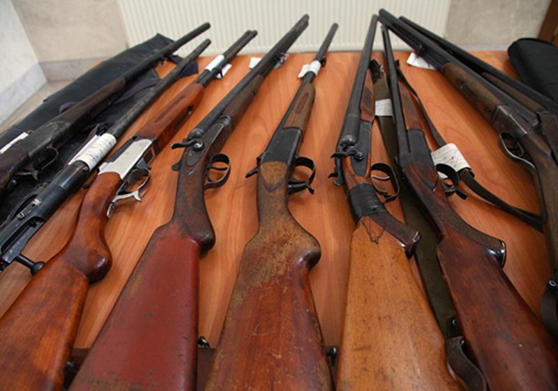 Завершився місячник добровільної здачі зброї