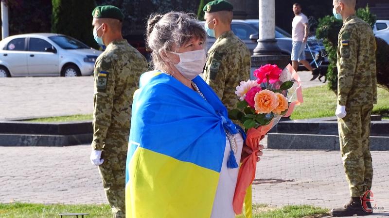 23 серпня хмельничани разом зі всією країною відзначають День Прапора