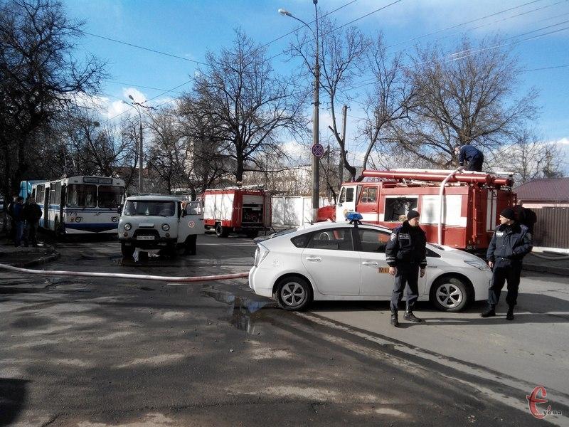 Вулиця Чорновола у Хмельницькому тимчасово перекрита