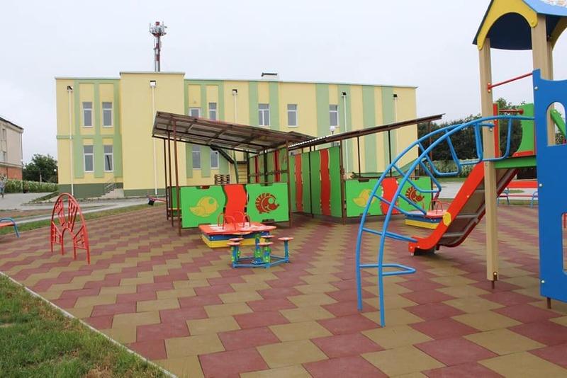 Новий дошкільний заклад розташований у реконструйованому приміщенні недобудованого басейну