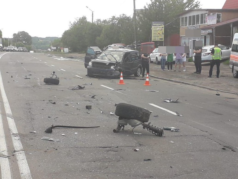 Аварія сталася в мікрорайоні Ружична