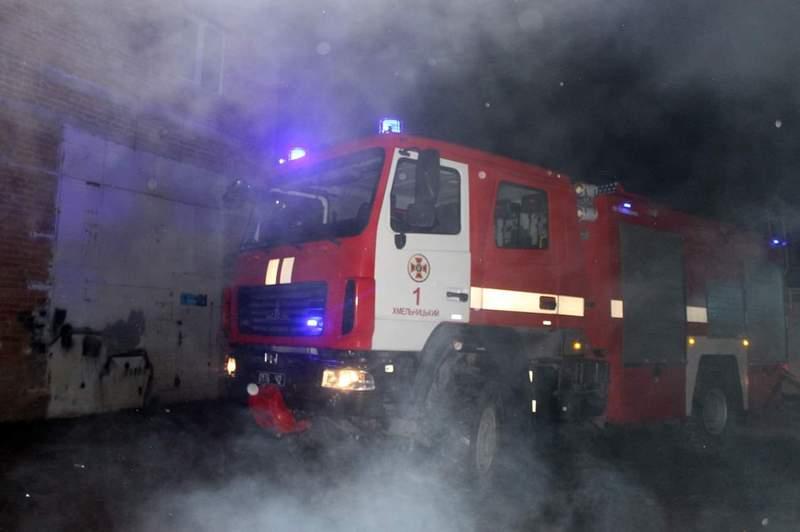 Постраждалих на пожежі не було