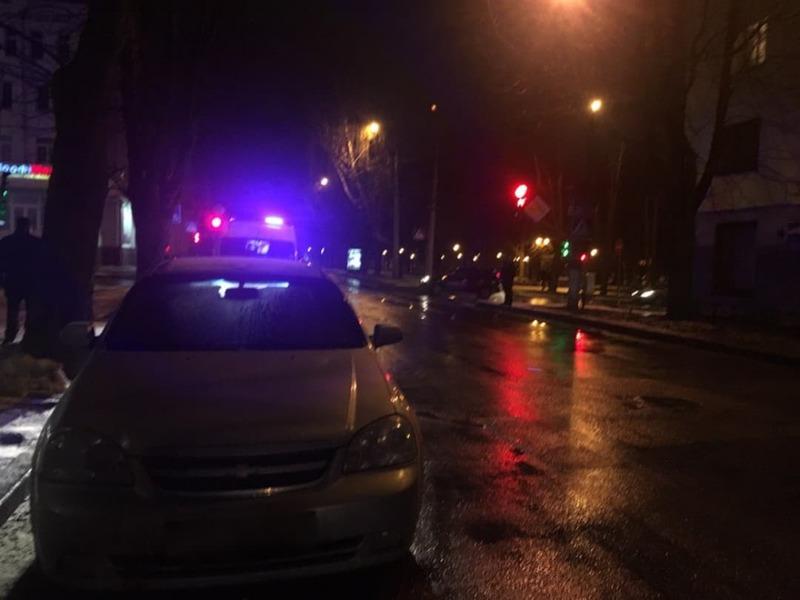 Аварія сталася на вулиці Героїв Майдану