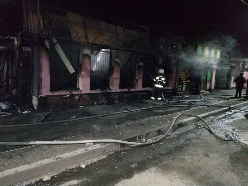 До ліквідації пожежі залучалось 11 вогнеборців на 3 одиницях пожежно-рятувальної техніки