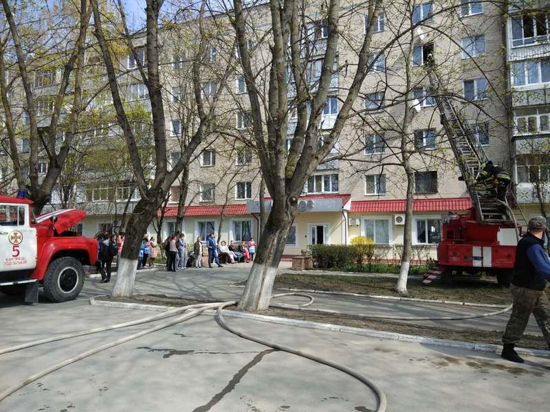 Загоряння сталося в одній з квартир будинку